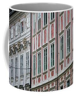 Coffee Mug featuring the photograph Ljubljana Windows #3 - Slovenia by Stuart Litoff