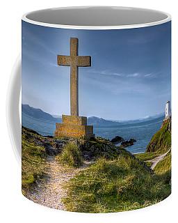 Llanddwyn Cross Coffee Mug