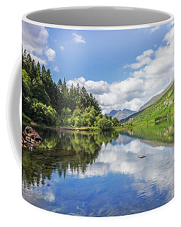 Llyn Mymbyr And Snowdon Coffee Mug by Ian Mitchell