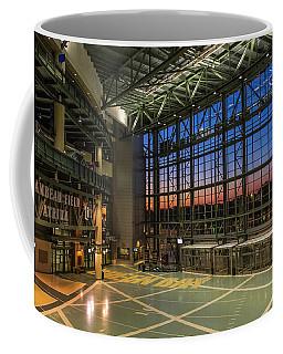 Lambeau Field Atrium Sunset Coffee Mug