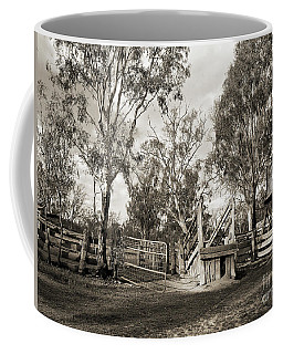 Coffee Mug featuring the photograph Loading Ramp by Linda Lees