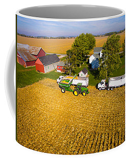Loading The Semis Coffee Mug