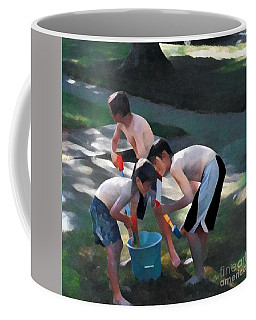 Coffee Mug featuring the photograph Loading Up by Jodie Marie Anne Richardson Traugott          aka jm-ART