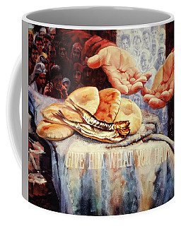 Loaves And Fishes 2 Coffee Mug