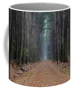 Coffee Mug featuring the photograph Loblolly Lane by Robert Geary