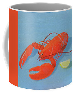 Lobster And Lemon Coffee Mug