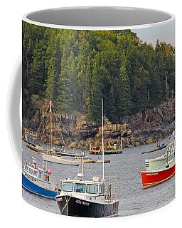 Lobster Boats In Bar Harbor Coffee Mug
