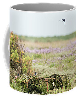 Lobster Pots And Swallows Coffee Mug