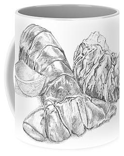 Lobster Shell Drawing Coffee Mug