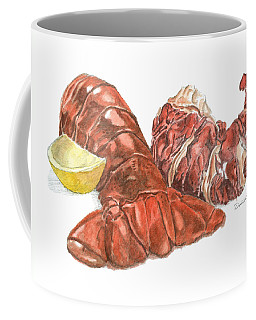 Lobster Tail And Meat Coffee Mug