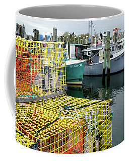 Lobster Traps In Galilee Coffee Mug