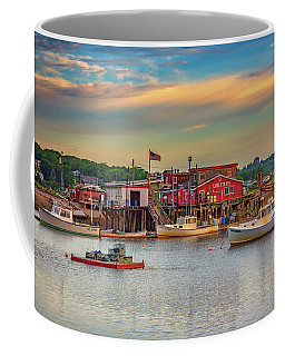 Coffee Mug featuring the photograph Lobsters by Rick Berk