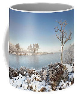Coffee Mug featuring the photograph Loch Ba Winter by Grant Glendinning