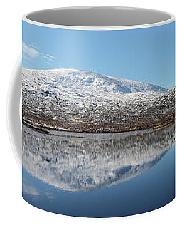Coffee Mug featuring the photograph Loch Droma Panorama by Grant Glendinning