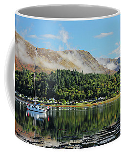 Coffee Mug featuring the photograph Loch Leven Glencoe by Grant Glendinning