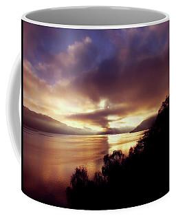 Loch Ness Winter Sunset Coffee Mug