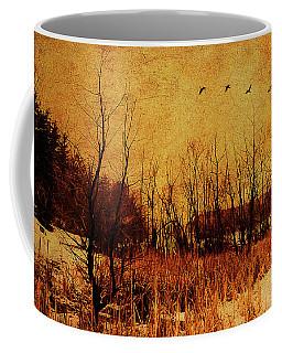 Loch Raven Reservoir Treeline Coffee Mug