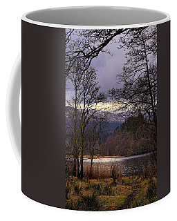 Coffee Mug featuring the photograph Loch Venachar by Jeremy Lavender Photography