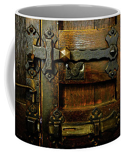 Locked And Bolted Coffee Mug by Lexa Harpell