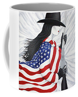 Locked And Loaded Number Two Coffee Mug by Lance Headlee