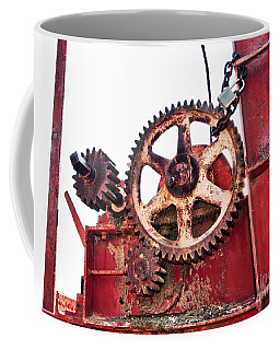 Coffee Mug featuring the photograph Locked In History by Stephen Mitchell