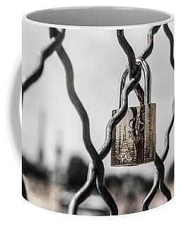 Locked In Paris Coffee Mug