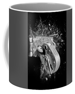 Coffee Mug featuring the photograph Locked by Jeremy Lavender Photography