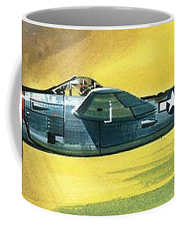 Lockheed P-38j Lightning Coffee Mug