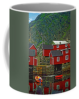 Lofoten Fishing Huts Coffee Mug