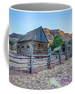 Log Barns Grafton Ghost Town Coffee Mug