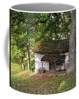 Log Cabin Coffee Mug