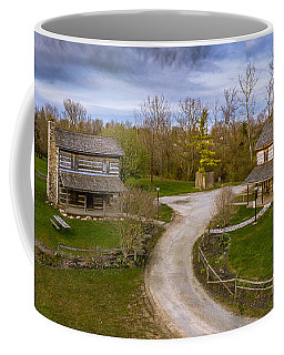 Log Cabins Coffee Mug