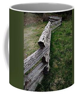 Log Fence Coffee Mug