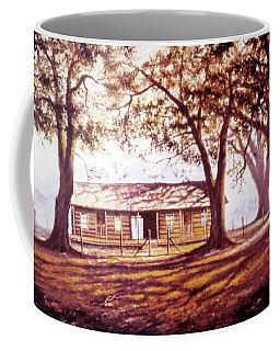 Log House On 421 Coffee Mug