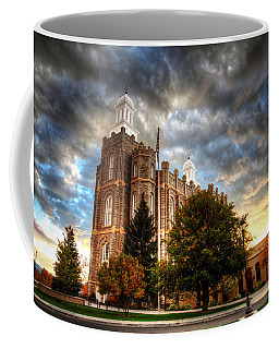 Logan Temple Cloud Backdrop Coffee Mug