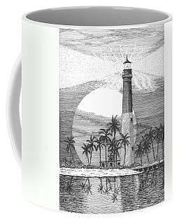 Loggerhead Key Lighthouse Coffee Mug by Lawrence Tripoli