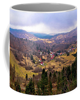 Lokve Valley In Gorski Kotar View Coffee Mug