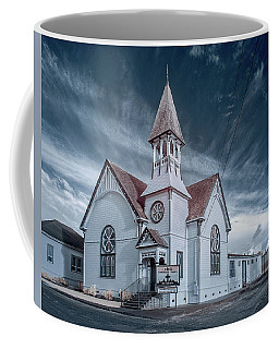 Coffee Mug featuring the photograph Loleta Church by Greg Nyquist