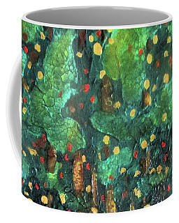 Coffee Mug featuring the painting Lollipop Trees by Valerie Anne Kelly