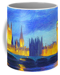 London 1 Coffee Mug by Caito Junqueira