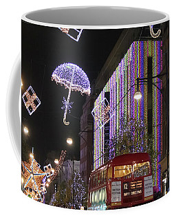 London At Christmas Coffee Mug