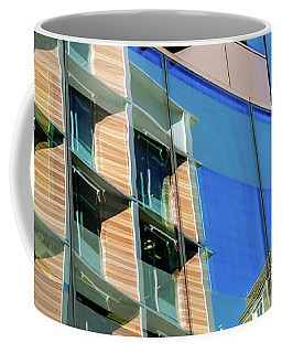 London Bankside Architecture 3 Coffee Mug by Judi Saunders
