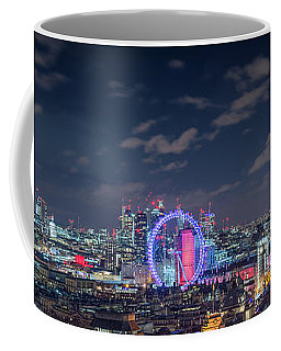 Coffee Mug featuring the photograph London By Night by Stewart Marsden