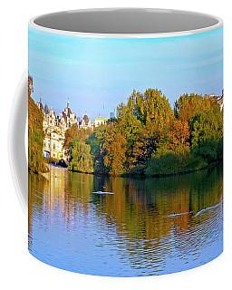 London Eye And Palace Coffee Mug by Haleh Mahbod