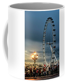 London Eye At Dusk Coffee Mug