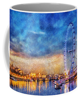 Coffee Mug featuring the photograph London Eye by Ian Mitchell
