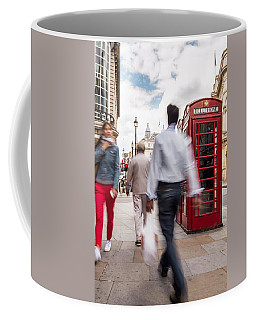 London In Motion Coffee Mug