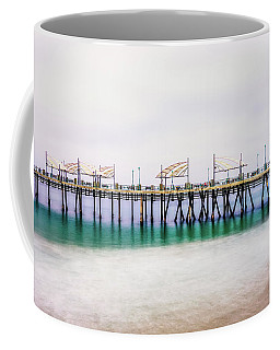 Coffee Mug featuring the photograph London In Redondo by Michael Hope