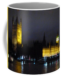 Coffee Mug featuring the photograph London Late Night by Christin Brodie