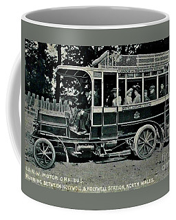 London Northwestern Railway Company Motor Omnibus 1907 Coffee Mug by Peter Gumaer Ogden